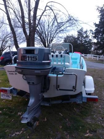 Photo 16 ft Boston whaler - $14,000 (Carrsville)
