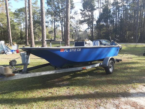 Photo 17ft center console fisher king boat - $1 (Middleburg)