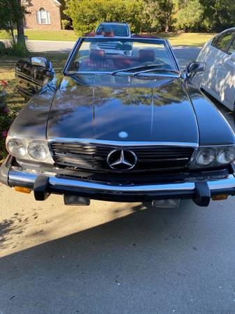 Photo 1985 Mercedes Benz 380SL - $15,000 (Myrtle Beach)