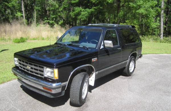 Photo 1987 Chevrolet S10 Blazer 4WD - $4675 (pawleys island)