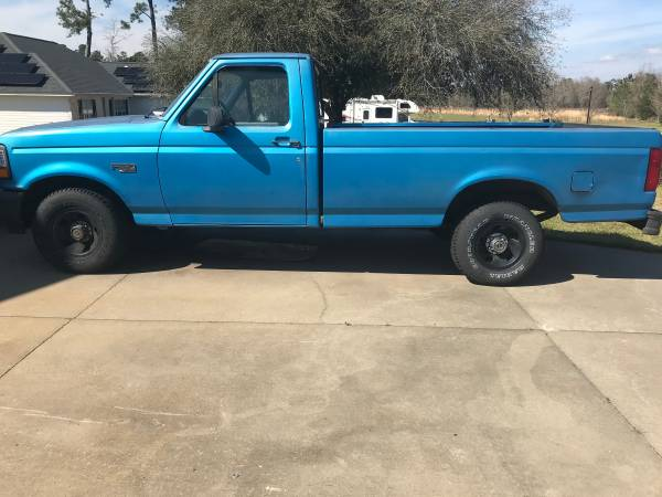 Photo 1995 Ford F150 Pickup 2 door manual - $2200 (Conway)