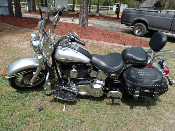 Photo 2003 Harley Davidson Heritage Softail ..100th Anniversary Edition - $5,800 (Elizabethtown,NC)