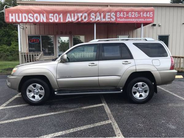 Photo 2004 Toyota 4 Runner Limited 4WD Buy Here Pay Here (Myrtle Beach)