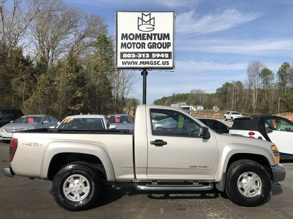 Photo 2005 GMC Canyon Reg Cab 111.2quot WB SLE Z71 $1500 DOWN OR LESSBUY HERE P - $5000 (2005 GMC Canyon Reg Cab 111.2quot WB SL)