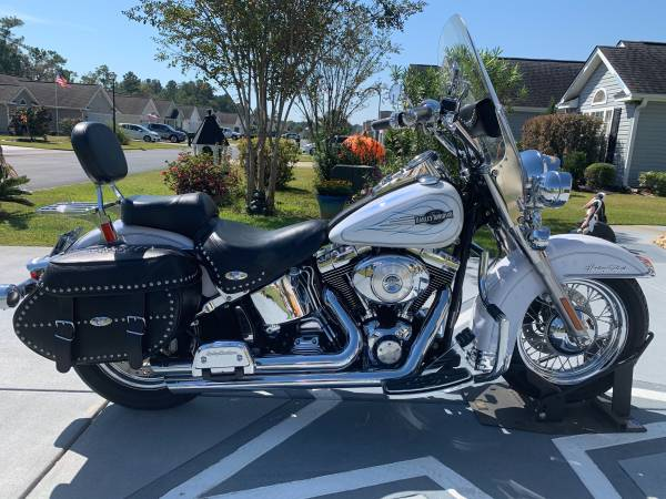 Photo 2005 Heritage Softail Harley for sale - $9,000 (Myrtle Beach SC)