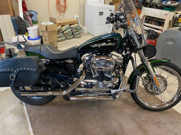 Photo 2006 Harley Davison 1200 sportster custom - $5,500 (Sunset beach)