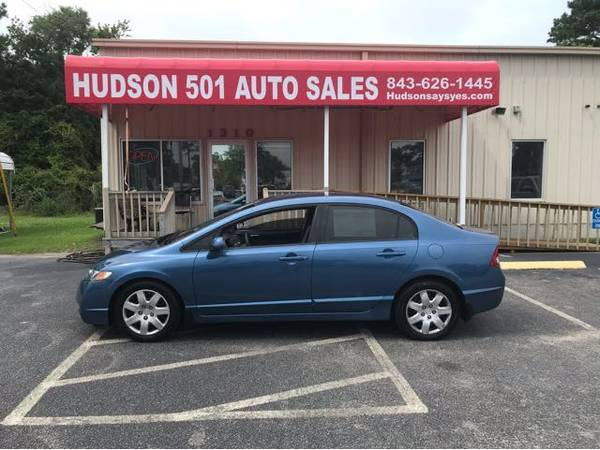 Photo 2009 Honda Civic LX Sedan Auto Trans Buy Here Pay Here (Myrtle Beach)