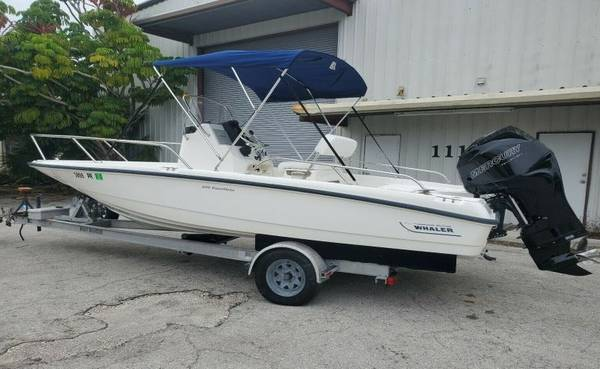 Photo 2011 Boston Whaler very versatile boat with a large bench seat - $18600