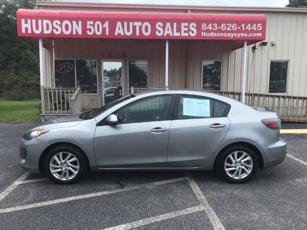 Photo 2012 Mazda 3i Touring Sedan $75.00 Per Week Buy Here Pay Here (Myrtle Beach)