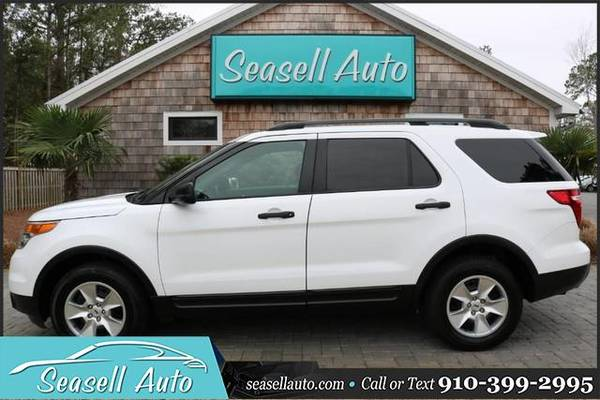 Photo 2014 Ford Explorer - Call 910-399-2995 - $7780 (2014 Ford Explorer Seasell Auto)