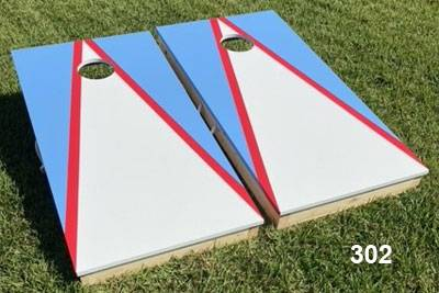 Photo 34quot Thick Tops Baby Blue  White Cornhole Boards with Bags  Handles - $159 (Socastee)