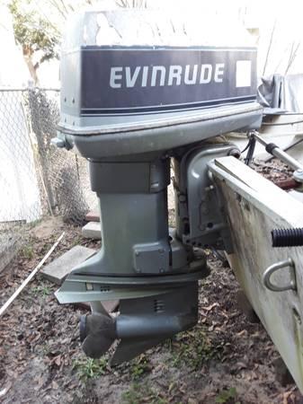 Photo 90 HP Evinrude - $500 (Murrells Inlet)