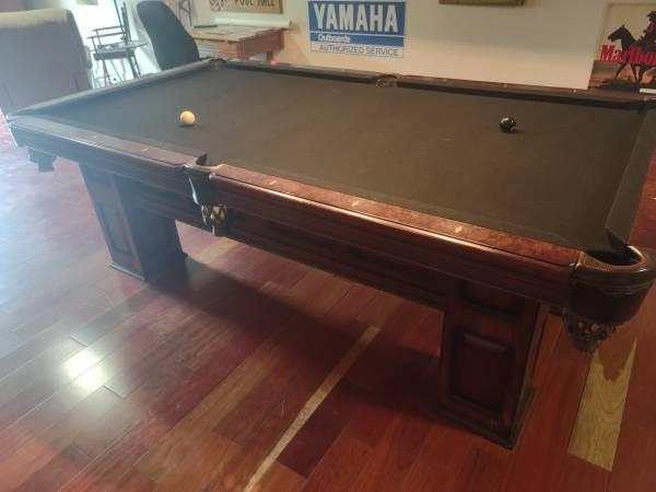 Photo American Heritage billiards table - $1,200 (Pawleys Island)