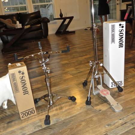 Photo Brand New SONOR Hi Hat  Snared Drum Stand (Conway  Carolina Forest)