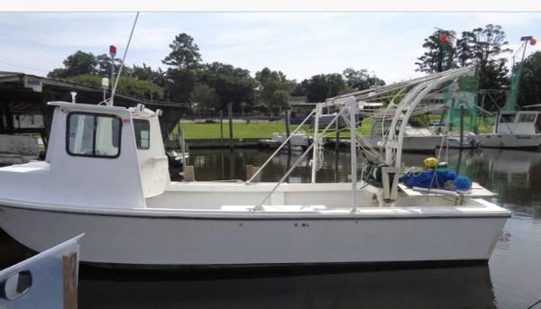 Photo Diamond 28 shrimp  fishing boat. - $40,000 (Conway)