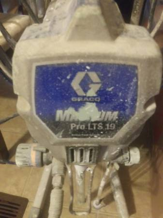 Photo Gracious Magnum pro lts 19 airless paint sprayer - $350 (Myrtle beach)