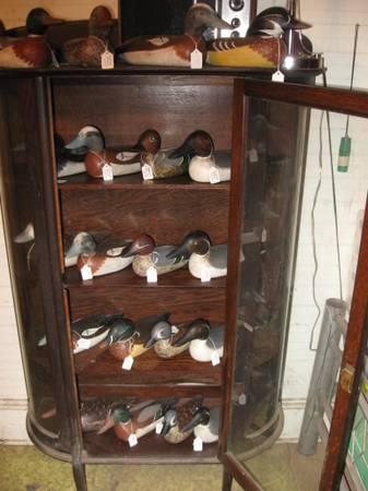 Photo Hand Carved Wood Duck Decoys - $150 (FAIR BLUFF)