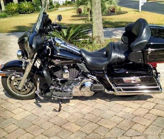 Photo Harley Davidson 2008 Ultra Classic - $9,950 (Murrells Inlet)