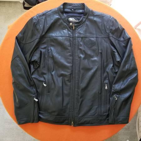 Photo Harley Davidson Mens 3XL Tall, Leather Jacket - $100 (Pawleys Island)