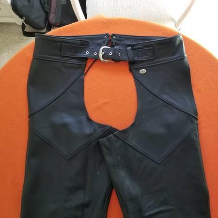 Photo Harley Davidson Mens XL Leather Chaps - $60 (Pawleys Island)