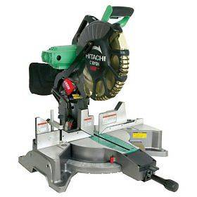 Photo Hitachi C12FDH 12 Inch Dual Compound Miter Saw with Laser Marker - $225 (Murrells Inlet)