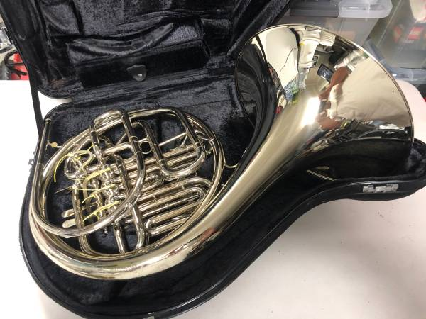 Photo Holton H179 Double French Horn Nickel - $2,500 (Myrtle Beach)
