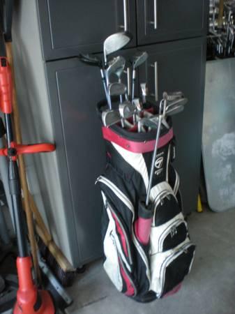 Photo Ladies Golf Set, Lady Cobra, Graphite, Very Nice - $140 (Murrells Inlet)