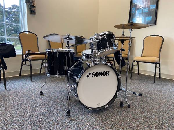 Photo Like Brand New SONOR Drum Set For Sale (Conway  Carolina Forest)