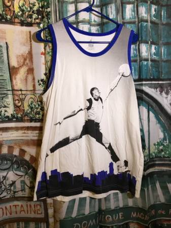 Photo Mens Michael Jordan Jumpman Skyline Jersey Tank Top Size Large New $2 - $20 (Myrtle Beach)