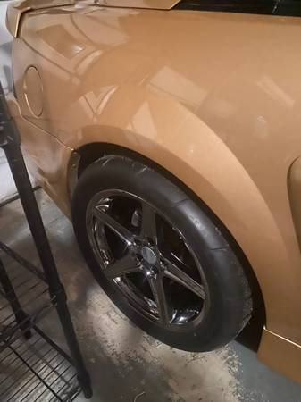 Photo Mustang Saleen Wheels and tires - $1,600 (Shallotte)
