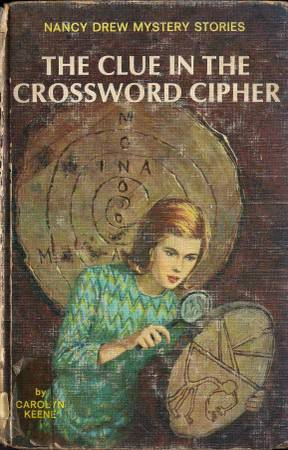 Photo Nancy Drew Mystery The Clue in the Crossword Cipher - $3 (North Myrtle Beach)