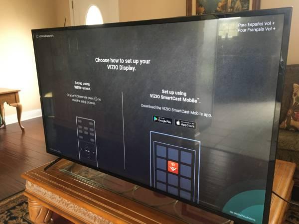 Photo Refurbished 2017 Vizio 5539 Inch 4K E-series SMART TV - $500 (North Myrtle Beach)