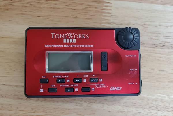 Photo Toneworks Korg Bass Processor , Pandora - $50 (Conway)