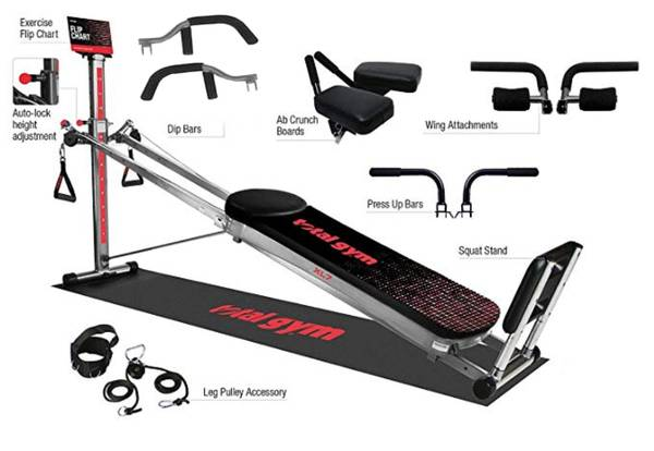 Photo Total Gym  X Force  with accessories  - $275 (myrtle beach)