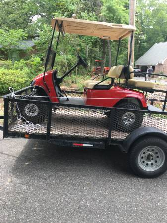 Photo We haul Golf carts (Horry Co)