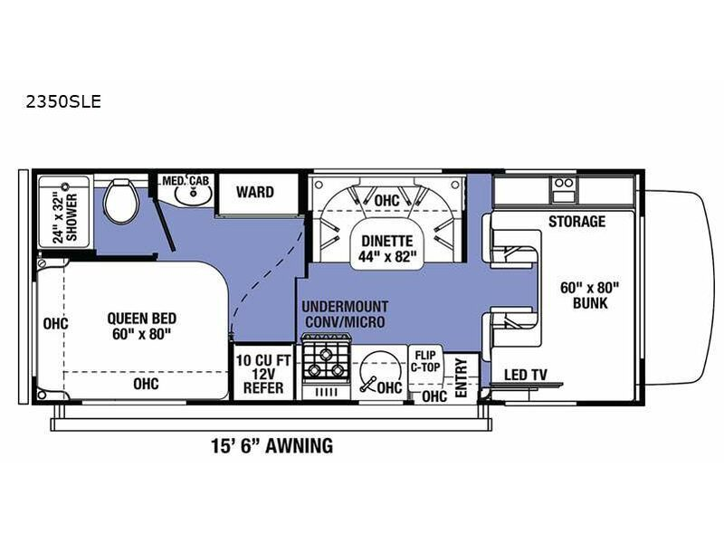Photo 2021 Forest River Rv Sunseeker LE 2350SLE Chevy $74713