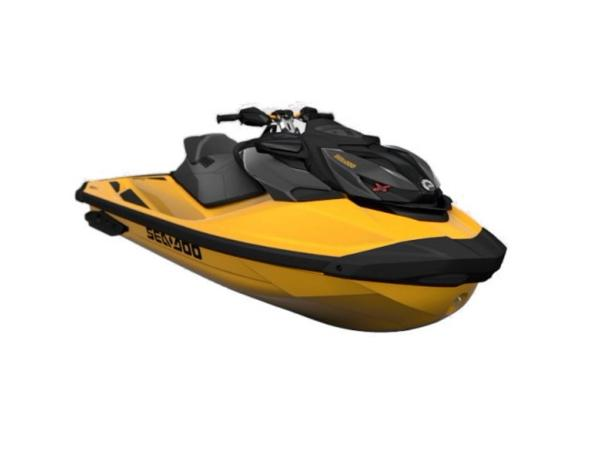 Photo 2021 Sea-Doo RXP-X 300 IBR  Sound System Millenium Yellow