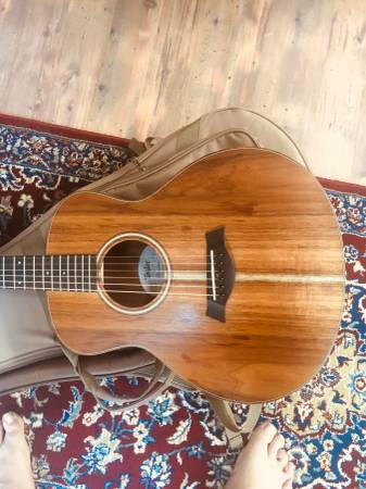 Photo taylor guitar gs mini KOA - $620 (calabash nc)