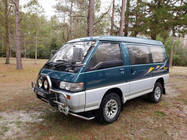 Photo 4x4 mitsubishi delica turbo diesel RHD van - $9,000 (Livingston)