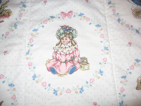 Photo Custom Made Baby Girl Quilt - $200 (Tyler)