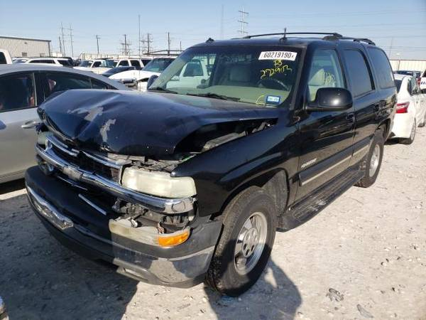 Photo FOR PARTS 2003 CHEVY TAHOE C1500 5.3 ENGINE 2X4 4L60 TRANS COMPLETE (NEVADA TX 75173)