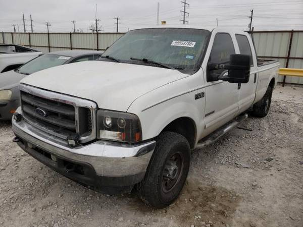 Photo FOR PARTS A 2001 FORD TRUCK F250 7.3 POWER STROKE DIESEL (NEVADA TX 75173)