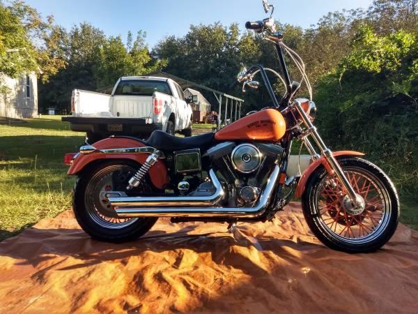 Photo For Sale 1997 Harley Davidson Dyna Super Glide - $7,450 (Hawkins)