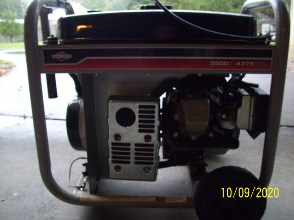 Photo Generator BriggsStratton 3500 Watt 4375 surge - $350 (Carthage)
