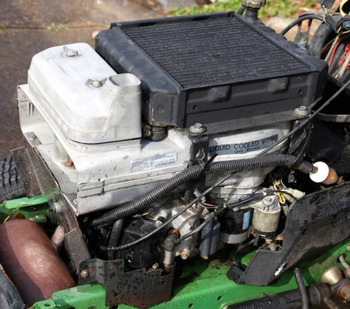 Photo Kawasaki F90V engine for John Deere 345 - $350 (Onalaska)