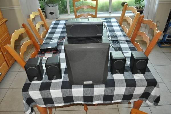 Photo Kenwood 6 Speaker Surround Sound - $25 (West Bryan)