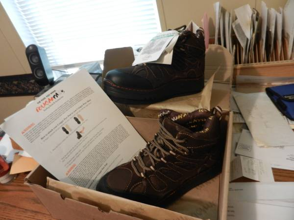 Photo man39s cougar paws roofing boots - $100 (shreveport)