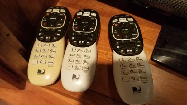 Photo remotes for dish network and DirecTV new dual dish tv - $1 (College Station)