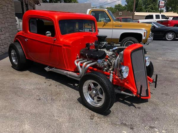 Photo 1934 Chevy 454 BIG BLOCK All Steel Body CUSTOM - $34000 (St Louis)