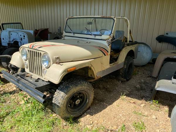 Photo 1973 Jeep CJ5CJ - $1950 (Waverly,TN)